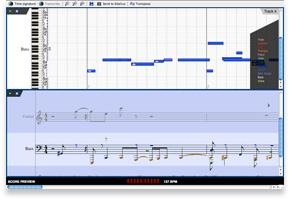 Create a printable score