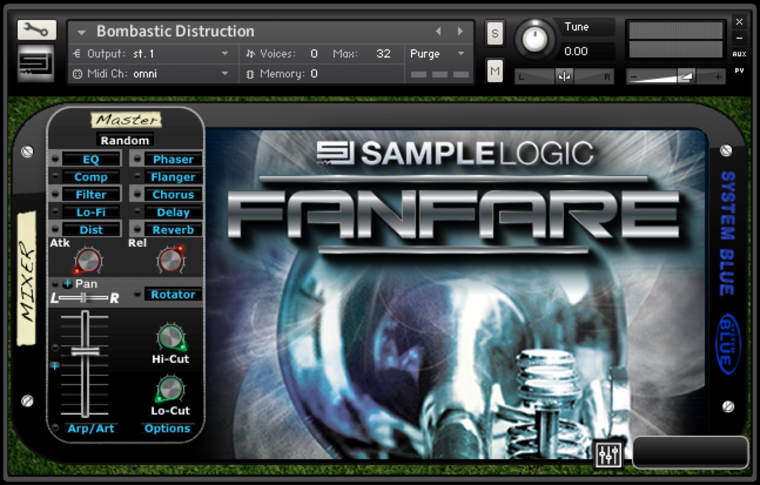 sample logic fanfare